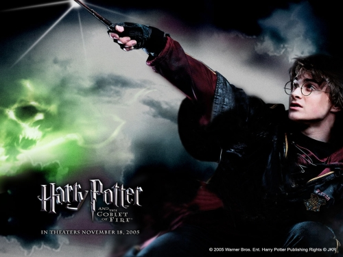 Harry Casts a Spell