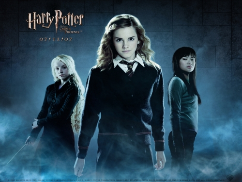 Hermione and The Girls Wallpaper