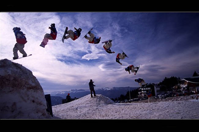 Proboarder  Boarder Sequence 55 Amazing Examples of Sequence Photography