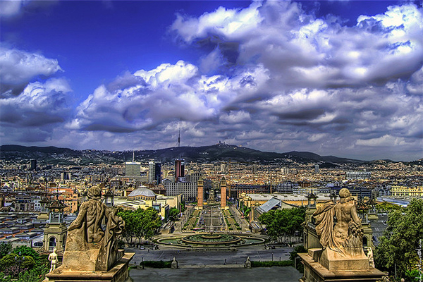 BARCELONA is powerful in Collection of Fascinating Barcelona Photographs