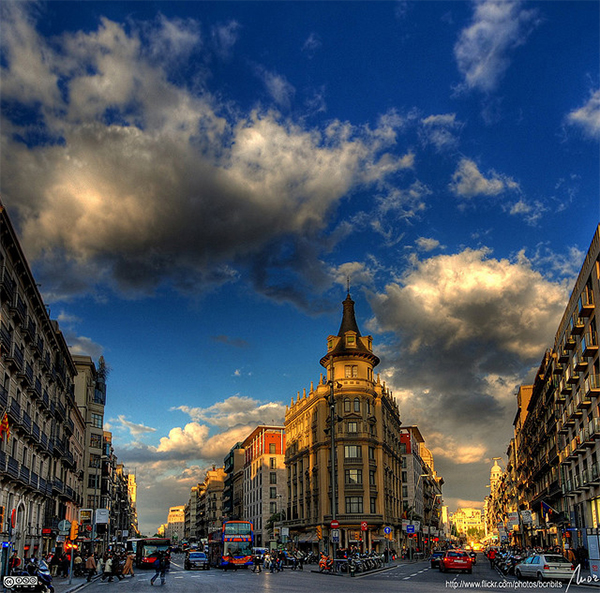 Barcelona HDR in Collection of Fascinating Barcelona Photographs