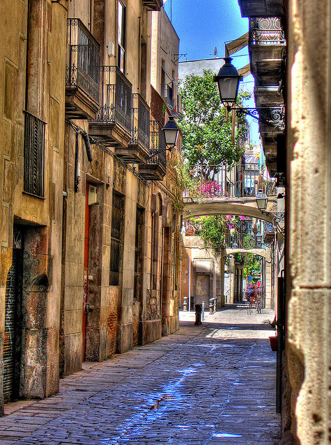 Carrer Carabassa in Collection of Fascinating Barcelona Photographs