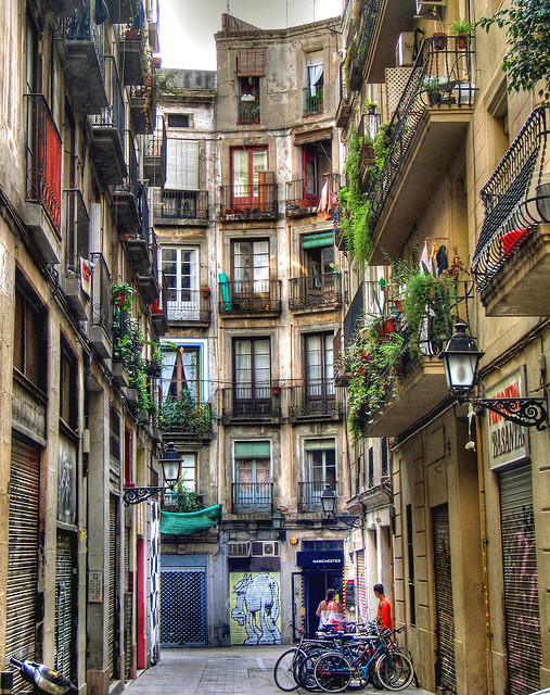 Carrer Milans in Collection of Fascinating Barcelona Photographs