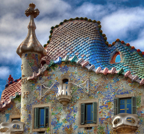 Casa Batlló in Collection of Fascinating Barcelona Photographs
