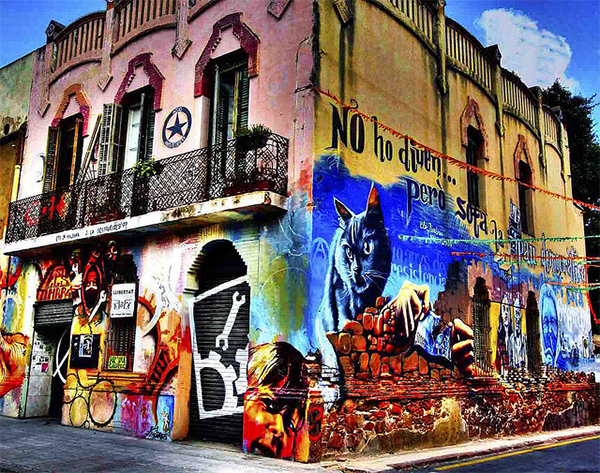 GRAFITIS in Collection of Fascinating Barcelona Photographs