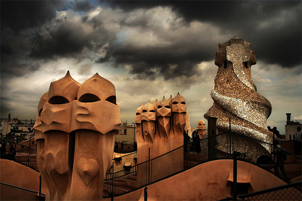Gaudi dreams in Collection of Fascinating Barcelona Photographs