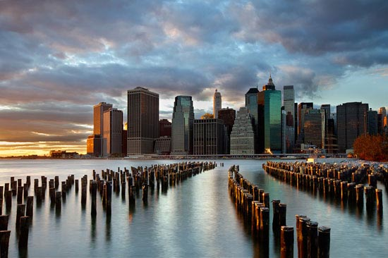 NYC Skyline Architecture Photography