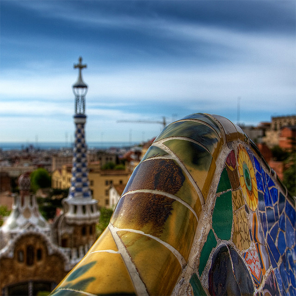 Park Güell in Collection of Fascinating Barcelona Photographs
