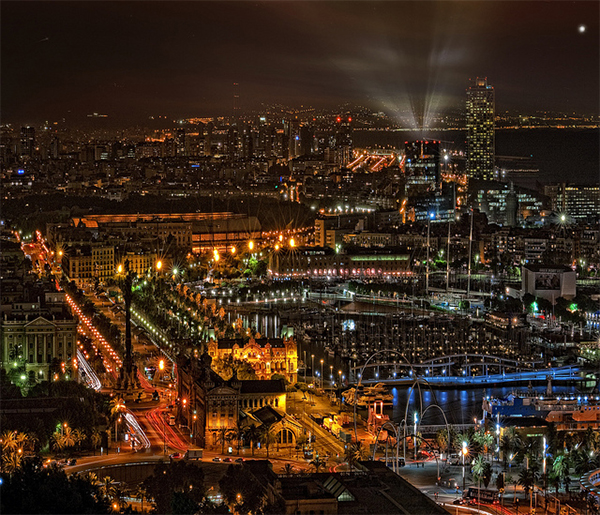 Promises in Collection of Fascinating Barcelona Photographs