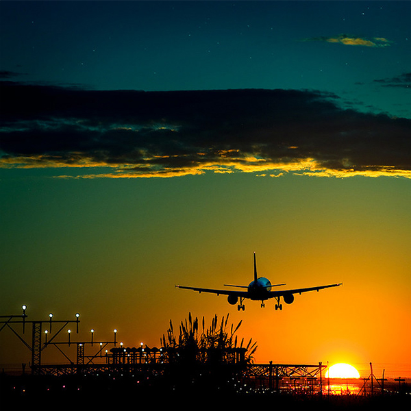 Sunset fly in Collection of Fascinating Barcelona Photographs