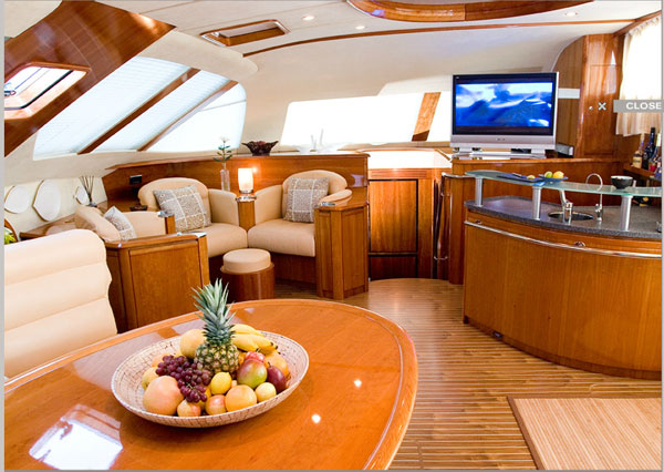 Cockpit Style Living Room