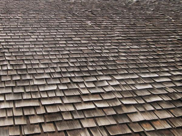 Wood Tiled Roof Pattern