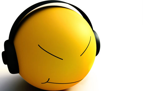 Music Listening Smiley