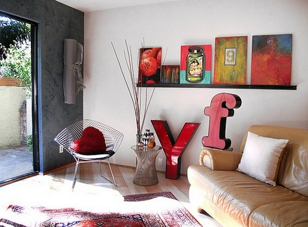 Children love photo 10 30 Creative Ways of Bringing Letters and Words Into Your Home