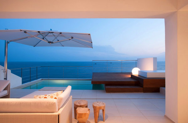 Poolside terraces Freshome 19 30 Poolside Terrace Ideas to Get Your Home Ready for the Summer