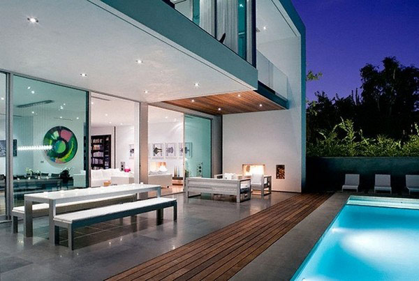 Poolside terraces Freshome 21 30 Poolside Terrace Ideas to Get Your Home Ready for the Summer