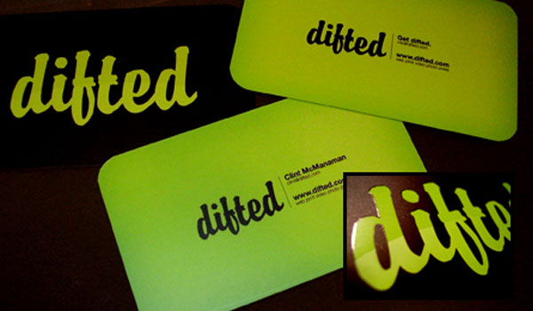 Difted Buisness Card