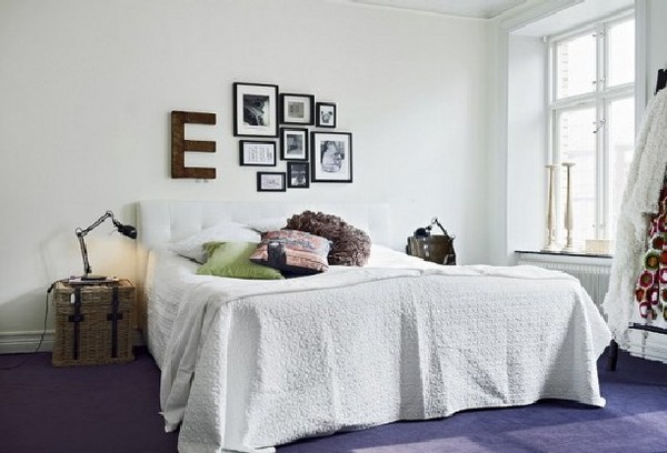 letters indoors 1 30 Creative Ways of Bringing Letters and Words Into Your Home