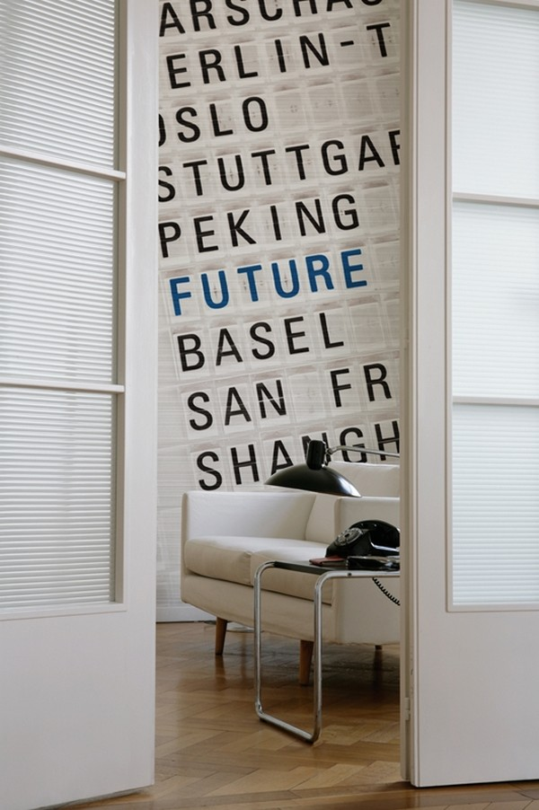 letters indoors 30 30 Creative Ways of Bringing Letters and Words Into Your Home