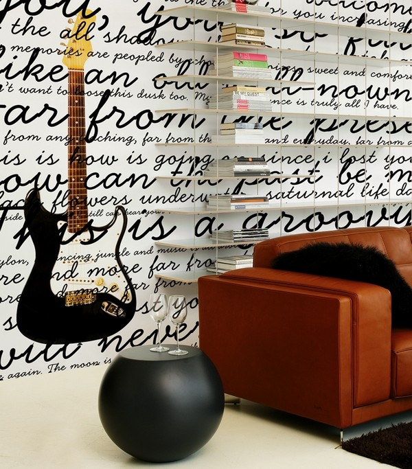 letters indoors 33 30 Creative Ways of Bringing Letters and Words Into Your Home
