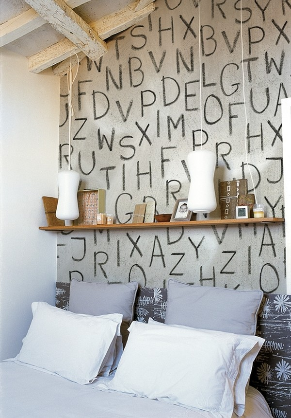 letters indoors 34 30 Creative Ways of Bringing Letters and Words Into Your Home