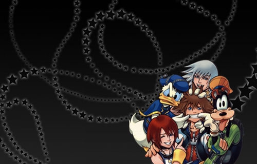 Happy Kingdom Hearts Pattern