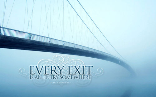 Exit = Entry