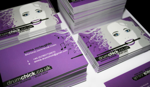 Business Card Drumchick