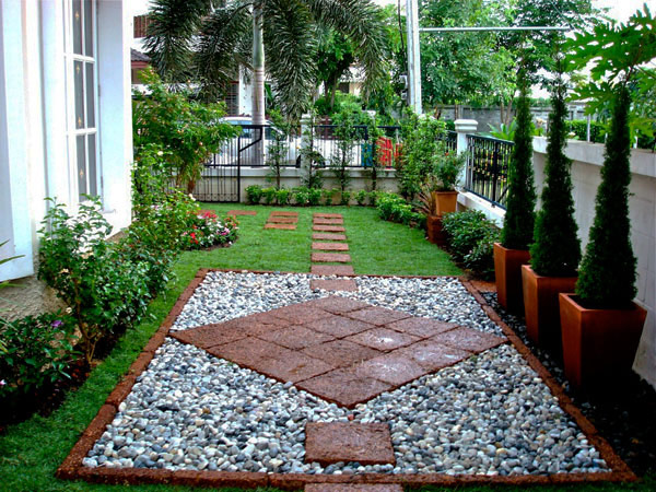 garden ideas walkways1 35 Lovely Pathways for a Well Organized Home and Garden