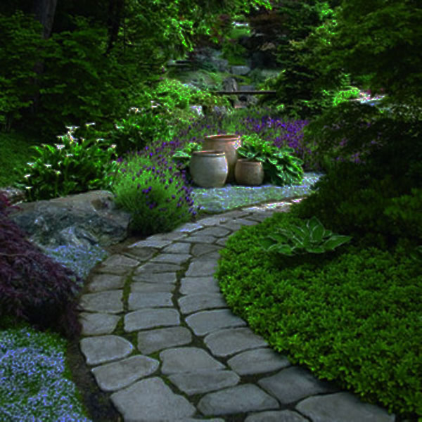 garden sample 35 Lovely Pathways for a Well Organized Home and Garden