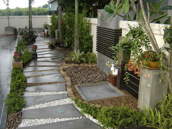 garden walkway 35 Lovely Pathways for a Well Organized Home and Garden