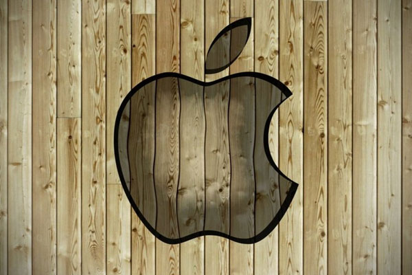 Apple On The Wall