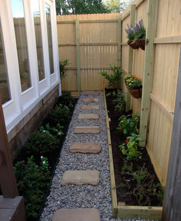 small walkway 35 Lovely Pathways for a Well Organized Home and Garden