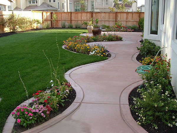 walkway landscape 35 Lovely Pathways for a Well Organized Home and Garden