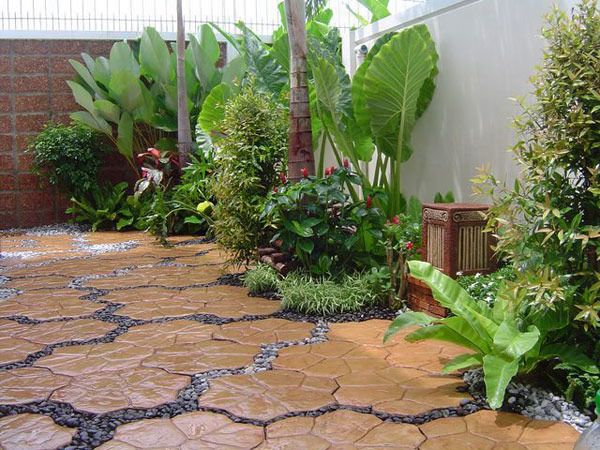 walkway pavers 35 Lovely Pathways for a Well Organized Home and Garden