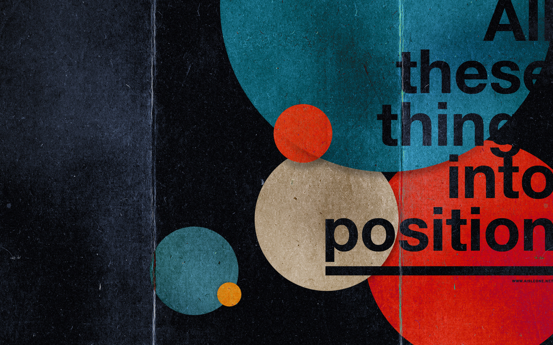 创意/All These Things Into posttion...