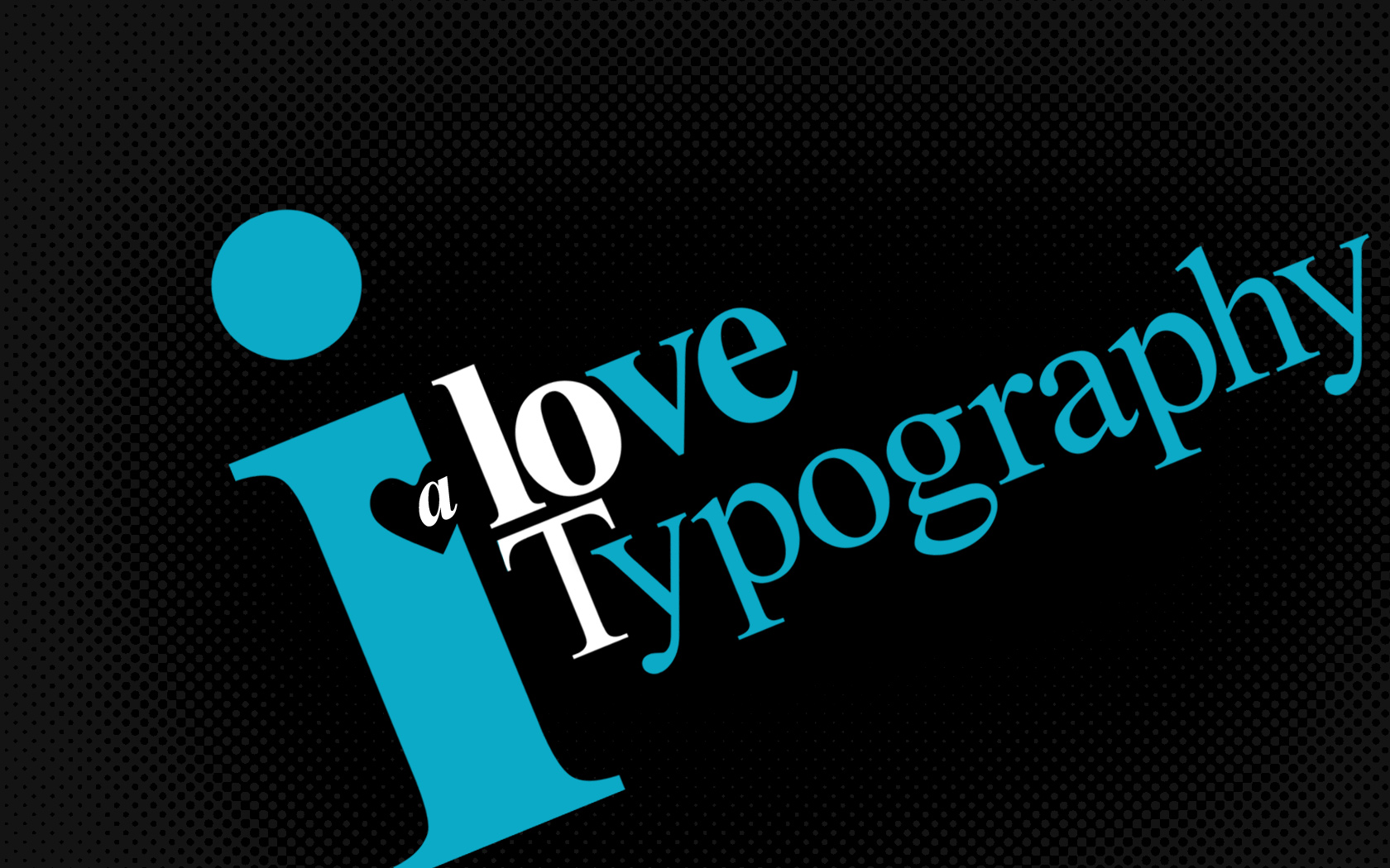 创意/I love Typography A lot...