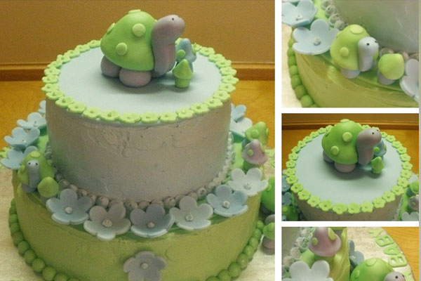 Green And Clean Cake