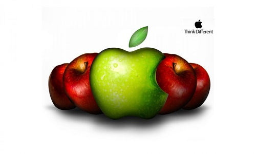A Different Apple