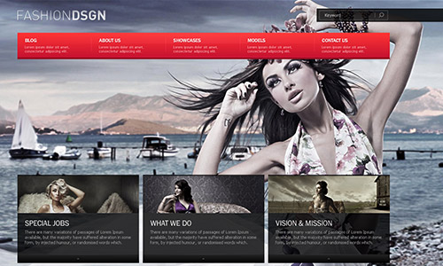 wp business theme fashiondesign Clean and Clear Fresh WordPress Business Themes