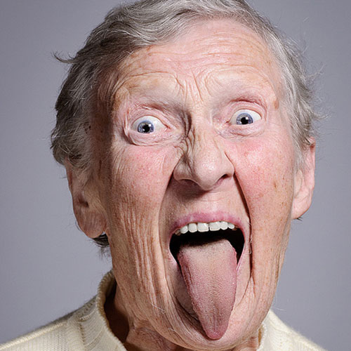 Funny Old Man