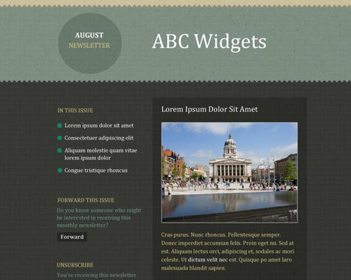 email template free abc widgets1 Free Email Templates for Quick and Effective Response