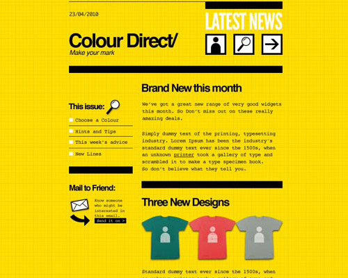 email template free colour direct Free Email Templates for Quick and Effective Response