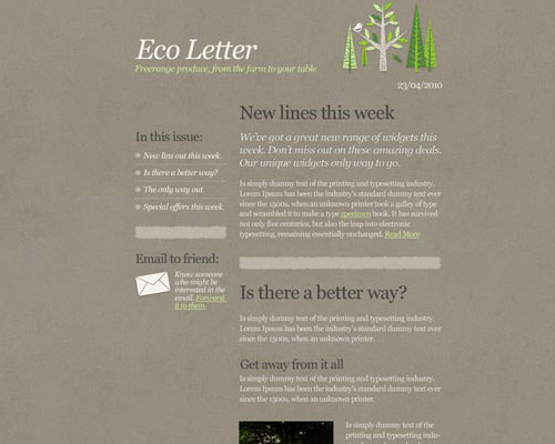email template free eco Free Email Templates for Quick and Effective Response