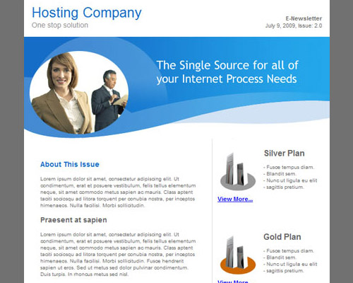 email template free hosting company Free Email Templates for Quick and Effective Response