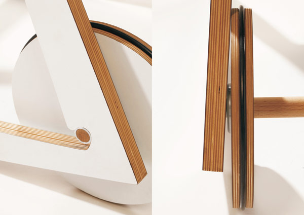 Chariot Chair 5 Playful and Multi functional Chair Design by Adam Molnar: Chairiot