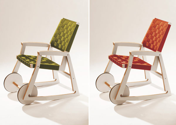Chariot Chair 6 Playful and Multi functional Chair Design by Adam Molnar: Chairiot