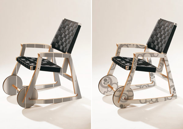 Chariot Chair 7 Playful and Multi functional Chair Design by Adam Molnar: Chairiot