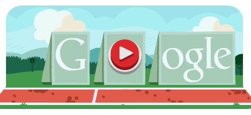 doodle hurdles Fresh Doodles Covering the Olympics 2012 by Google