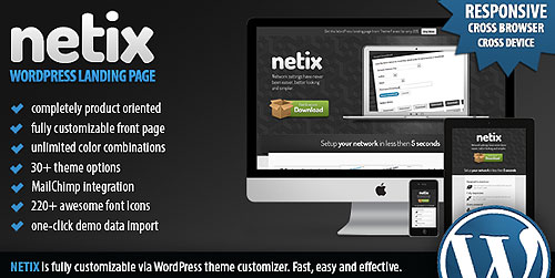 best wp technology theme dm netix The Best WordPress Technology Themes